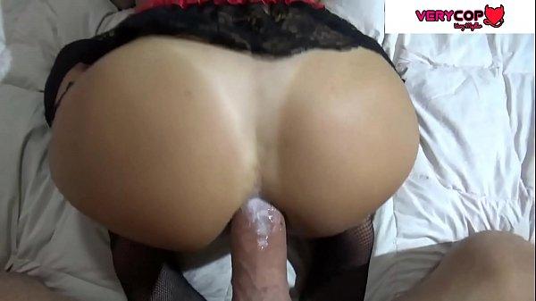 Sexo anal gratis com mulher tesuda usando lingerie